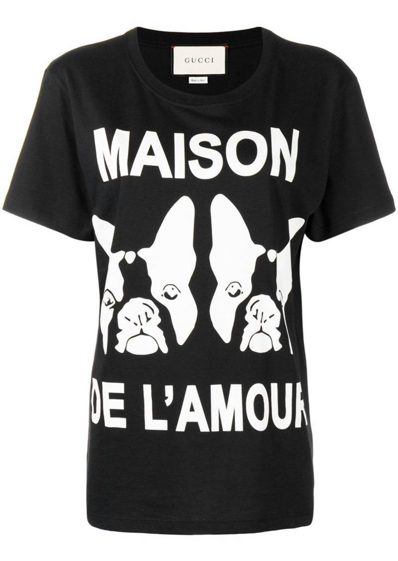 1de683f47 Gucci Maison de L'amour printed T-shirt | Tees