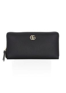 Gucci Marmont Leather Zip-Around Wallet