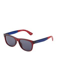 Gucci Men's Square Plastic Sunglasses