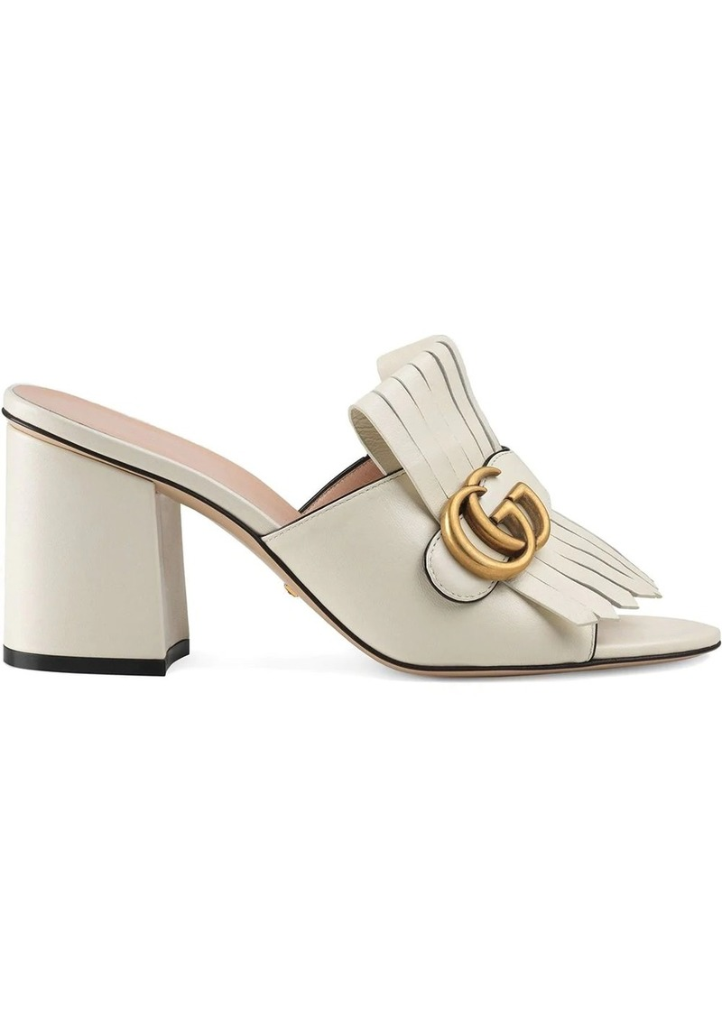 mid-heel Double G mules