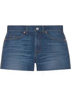 Gucci mini denim shorts