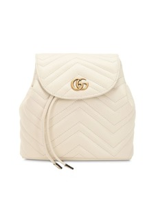 Gucci Mini Gg Marmont Leather Backpack