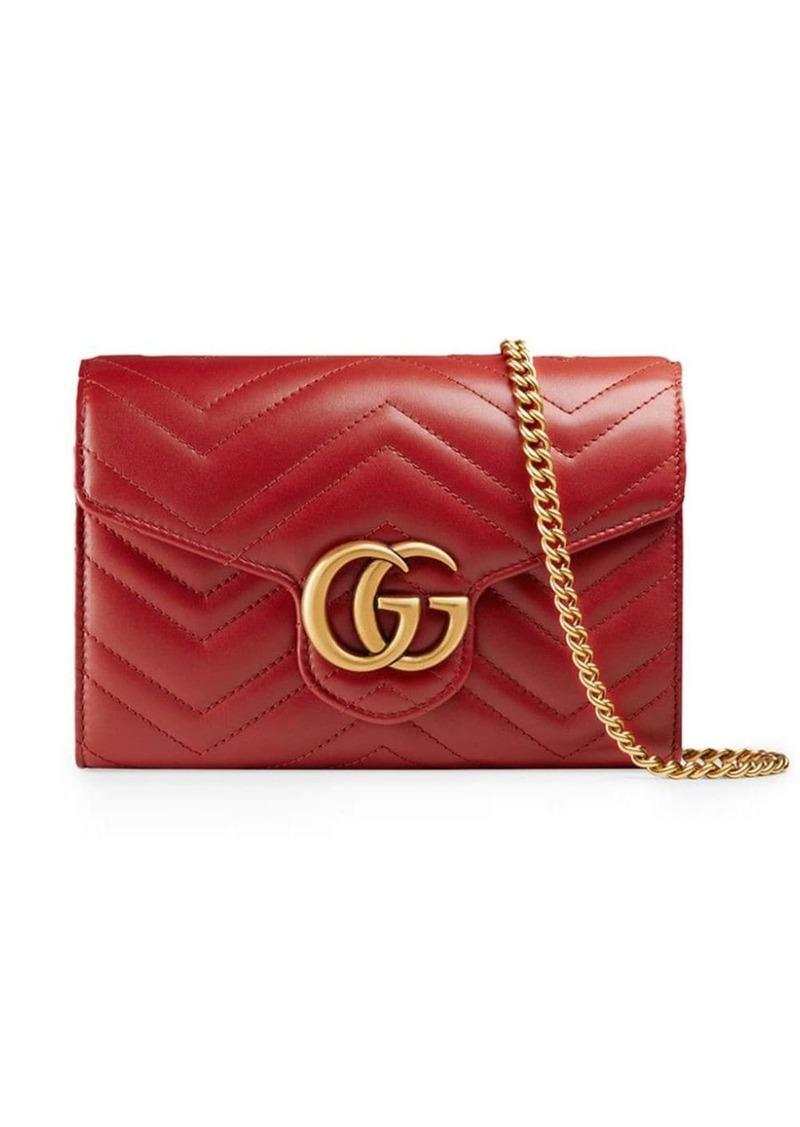 Gucci mini GG Marmont matelassé bag