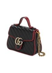 Gucci Mini Gg Marmont Torchon Leather Bag