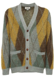 Gucci Mohair Blend Knit Cardigan