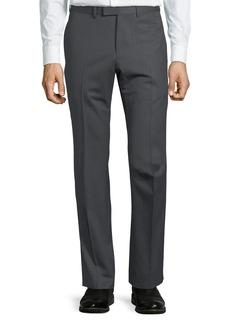Gucci Monaco Pinstripe Wool Trouser Pants
