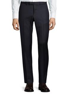 Gucci Monaco Wool Micro Striped Trouser Pants