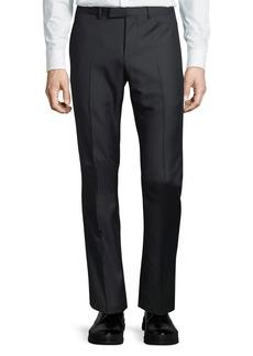 Gucci Monaco Wool Tonal-Striped Trouser Pants