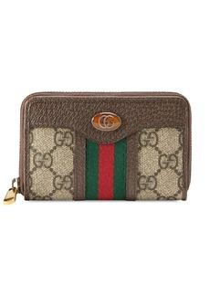 Gucci monogram print wallet