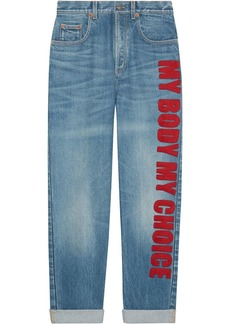Gucci My Body My Choice jeans