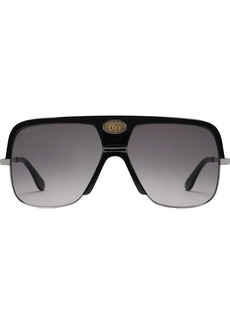 Gucci Navigator sunglasses with Double G