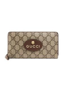Gucci Neo Vintage GG Supreme zip around wallet