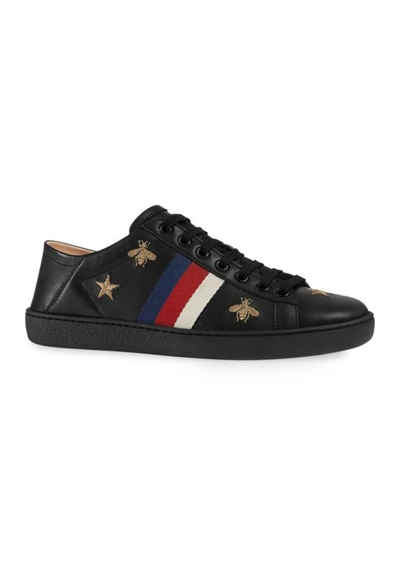 fe9a0bf6a00 Gucci Ace Sneakers With Bees And Stars