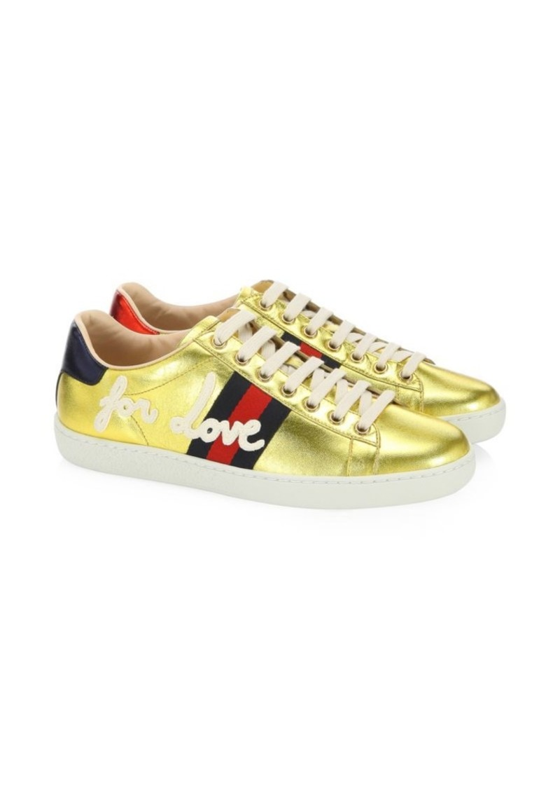 b72ebf7c2ce4 Gucci Ace Embroidered Sneakers