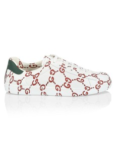 Gucci New Ace GG Leather Sneakers