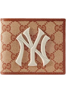 Gucci New York Yankees ™ patch original GG coin wallet