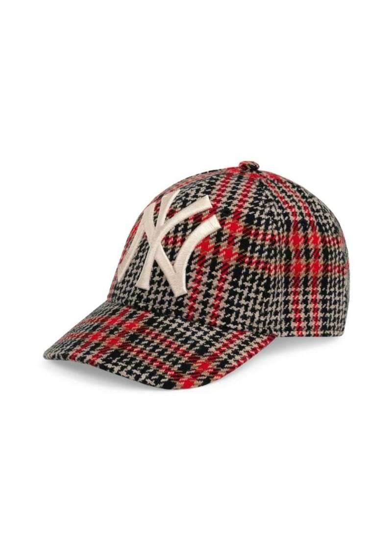 49e12ec0d5d14 Gucci New York Yankees Diamante Baseball Cap
