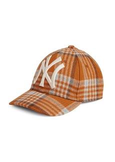 8445069c5d7 Gucci New York Yankees™ Plaid Baseball Hat