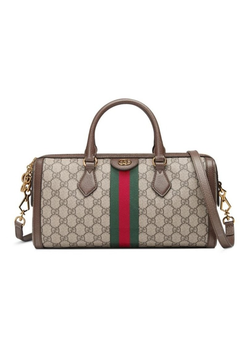 d8c6028a2603 Gucci Ophidia GG Medium Top Handle Duffel Bag | Handbags