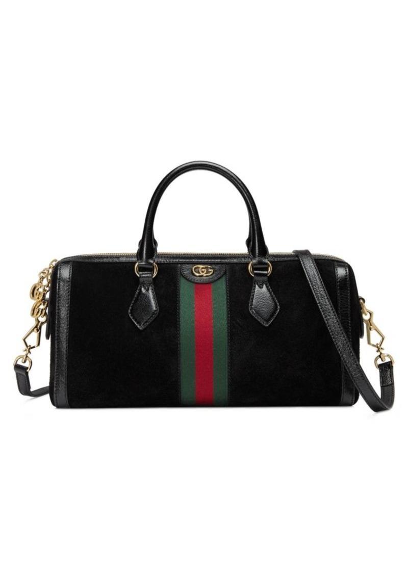 4ebd438b542b Gucci Suede Duffle Bag – Hanna Oaks