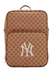 Gucci Original Gg Supreme Logo Backpack