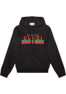 Original Gucci printed hoodie
