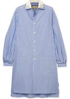 Gucci Oversized Striped Cotton Tunic