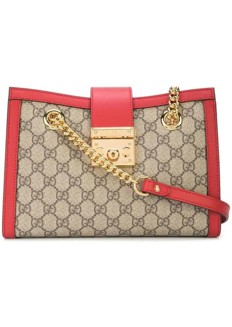 2a33d8f2d3b Gucci Padlock GG Supreme canvas shoulder bag