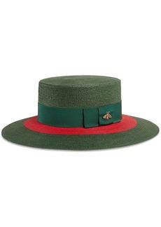 4c34b0d6077c5 Gucci Gucci Aria flower-appliqué felt hat