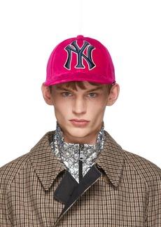 2ee3b6e3 Gucci New York Yankees Diamante Baseball Cap   Misc Accessories