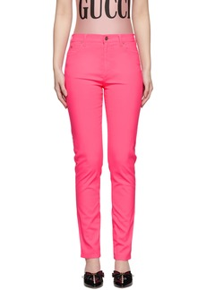 Gucci Pink Skinny Jeans