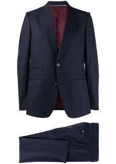 Gucci pinstriped two-piece suit