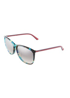Gucci Plastic Square Sunglasses