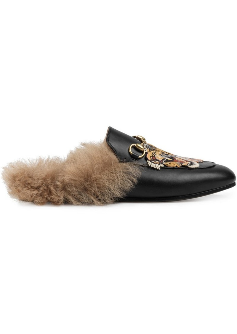 7d81060ac9d Gucci Princetown leather slipper