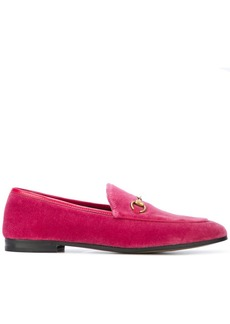 Gucci Princetown velvet loafers