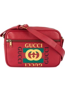Gucci printed messenger bag
