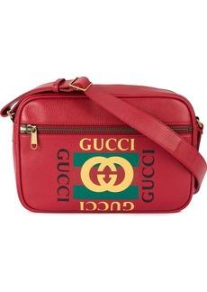 Gucci printed messenger bag