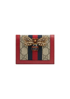 Gucci Queen Margaret GG card case