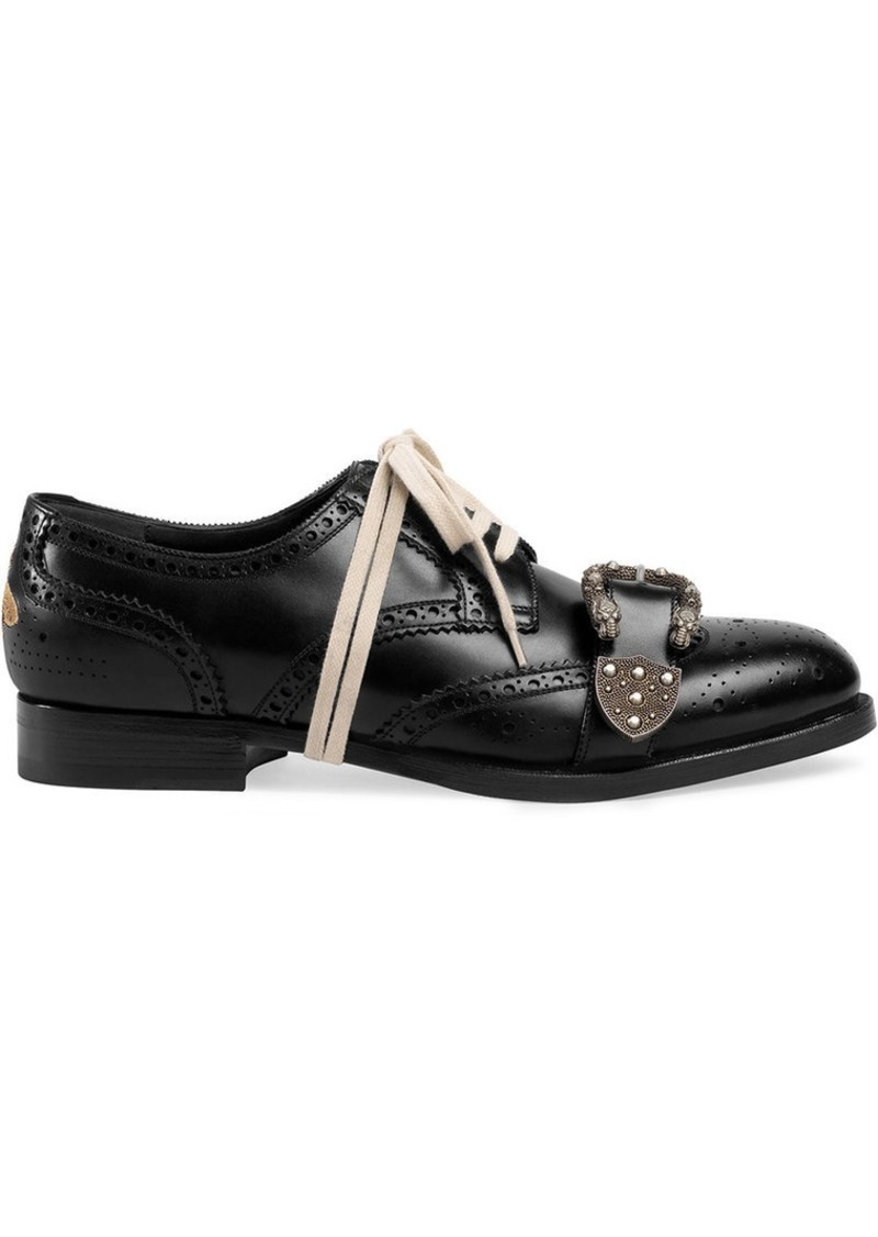 a43a8c58dfb918 Gucci Queercore brogue shoes