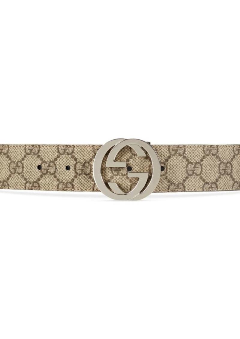 a1c5ea16d Gucci Reversible Interlocking GG Supreme Belt | Belts