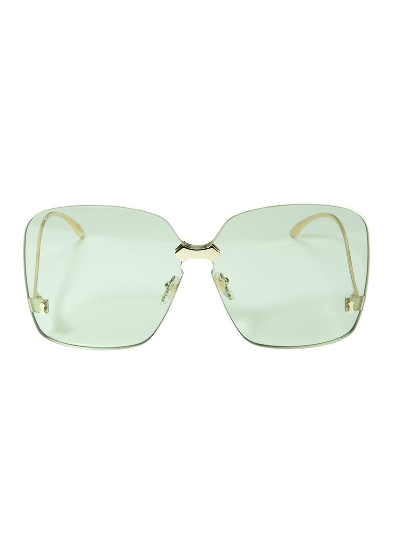 ee34831a9 Gucci Rimless Square Sunglasses | Sunglasses
