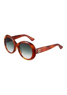 Gucci Round Acetate Sunglasses