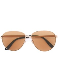 Gucci round-frame sunglasses with Web
