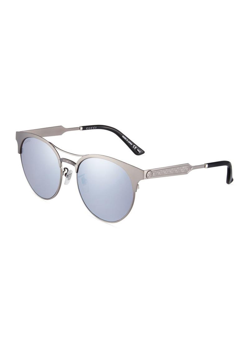 991f79848 Gucci Round Metal Sunglasses | Sunglasses