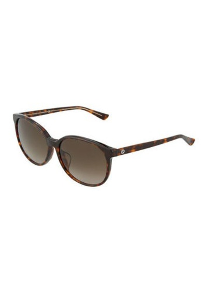 0efb078482102 On Sale today! Gucci Round Plastic Sunglasses