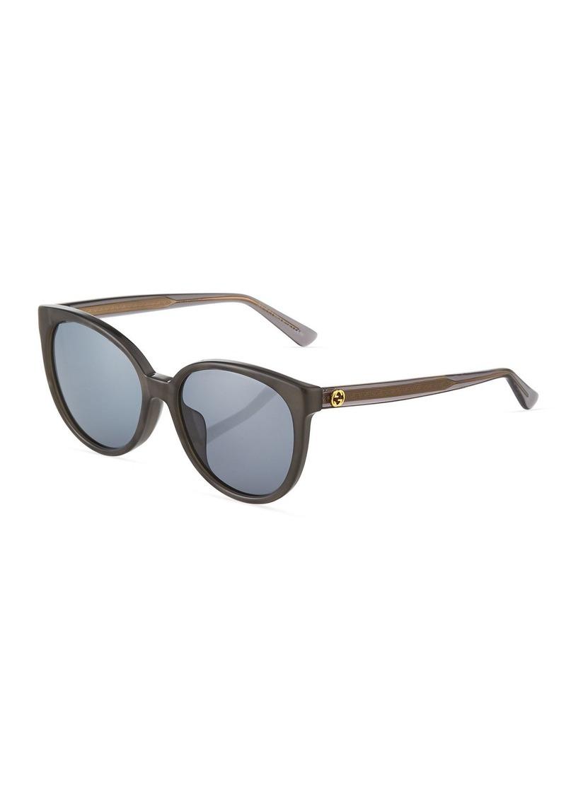 5325b476828b9 Gucci Round Plastic Sunglasses