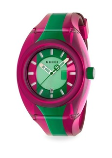 Gucci Rubber Colorblock Watch
