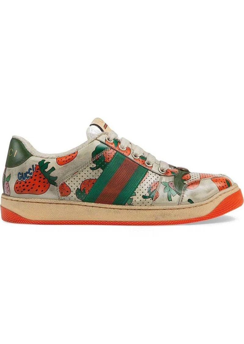 Screener Gucci Strawberry sneaker
