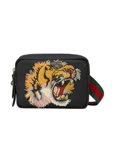 Gucci Shoulder bag with panther face appliqué