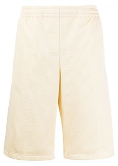 Gucci side stripes track shorts